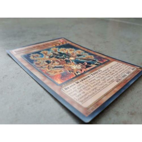 Brotherhood of the Fire Fist - Dragon SR CBLZ - YuGiOh